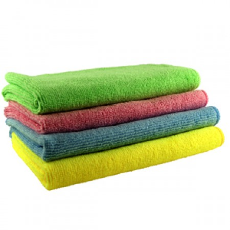 pack of microfibre cloths by simplymicrofibre