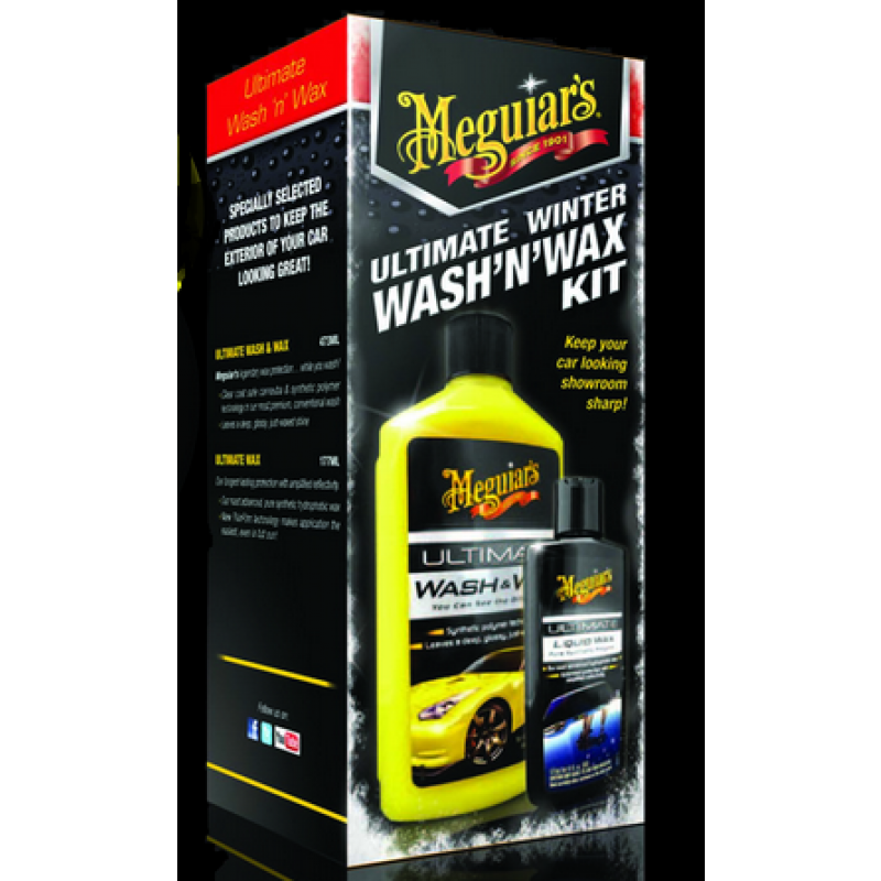 car polish meguiars ultimate winter wash 39 n 39 wax kit. Black Bedroom Furniture Sets. Home Design Ideas