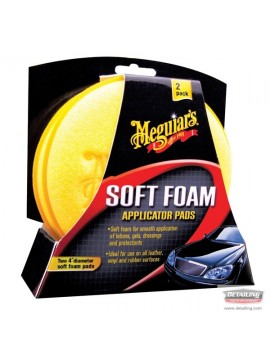 Meguiars Soft Foam Applicator Pad - Twin Pack