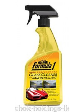 Formula 1 Glass Cleaner with Rain Repellant 24oz