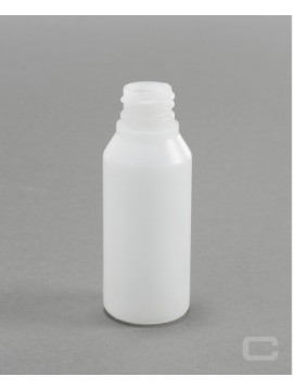 WaxyClean Sloping Shouldered Plastic Bottle - HDPE