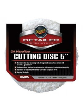 "Meguiars 5"" DA Microfibre Cutting Disc - 2 Pack"