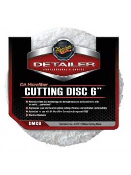 "Meguiars 6"" DA Microfibre Cutting Disc - 2 Pack"