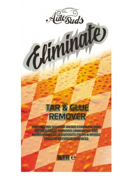 AutoSuds eliminiate Tar and Glue Remover