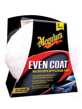 Meguiars Even Coat Microfibre Applicator Pad - Twin Pack