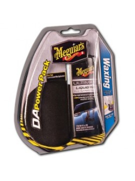 Meguiars DA Waxing Power Pack