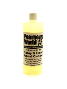 Poorboys Spray And Rinse Wheel Cleaner (Poorboys)