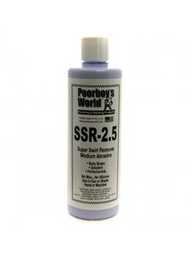 Poorboys SSR 2.5 Super Swirl Remover Medium Abrasive