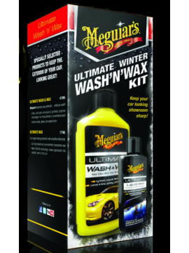 Meguiars Ultimate Winter Wash'N' Wax Kit