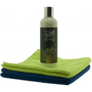 Leather Conditioner and Microfiber cloths